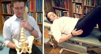 Il mal di schiena ti tormenta? Con questo semplice esercizio potresti dirgli addio