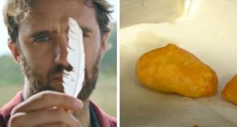 Een bedrijf produceert heerlijke kipnuggets van de cellen in een veer: binnenkort zullen ze op de markt zijn