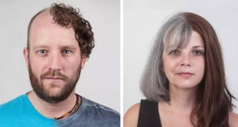 Diese Nebeneinander-Porträts von Mitgliedern derselben Familie zeigen die erstaunliche Kraft der DNA