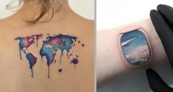 20 stupendi tatuaggi a tema viaggio che ogni cittadino del mondo vorrebbe avere sulla sua pelle