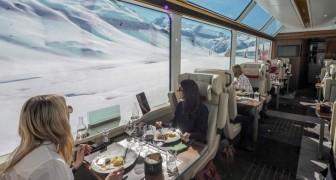 Atemberaubende Ausblicke und exzellentes Essen - das ist es, was eine erstklassige Reise mit dem Glacier Express ausmacht