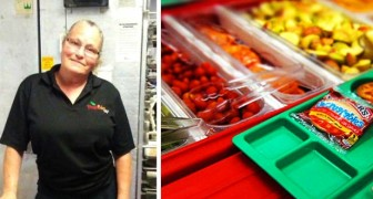 A waitress was fired for serving a meal to a student who didn't have enough money to pay the bill