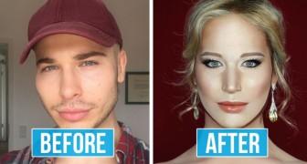 Dieser Make-up-Assistent kann fast JEDER werden: Seine Transformationen sind außergewöhnlich
