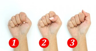 The way you close your fist reveals a lot about your character! Go ahead, try it!