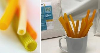Essbare Strohhalme statt Plastikhalme: die leuchtend grüne Erfindung einer italienischen Genossenschaft