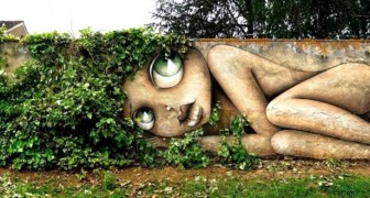 Straßenkunst: 18 spektakuläre Werke, vor denen man sich nicht verstecken kann