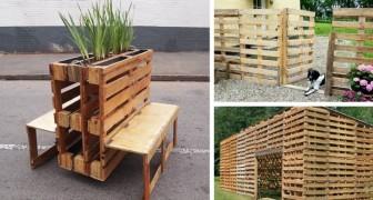 Alcune tra le idee più ingegnose in circolazione per riutilizzare i pallet in casa e in giardino