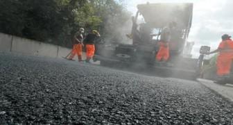 Arriva a Roma il rivoluzionario asfalto al grafene: ultraresistente e completamente green