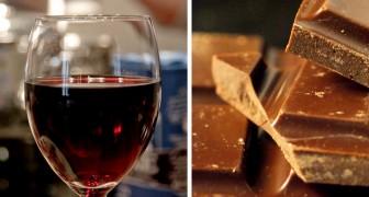 La ricetta per vivere più a lungo? Un bicchiere di vino e un pezzo di cioccolato al giorno
