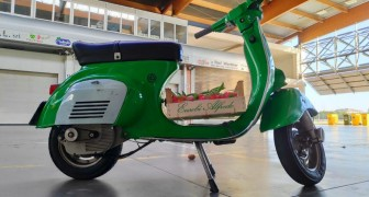 Arriva il kit per trasformare la mitica Vespa d'epoca in uno scooter elettrico a emissioni zero
