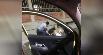 Il tassista chiede alla cliente se può fermarsi un momento: la scena a cui assiste poco dopo la lascia commossa