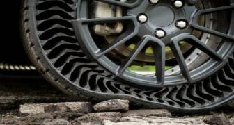 Voici le révolutionnaire pneu sans air qui ne craint pas les crevaisons