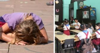 Ihr Gehirn funktioniert nicht: 4 Lehrer machen sich über ein 7-jähriges autistisches Mädchen lustig