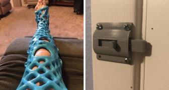 15 persone ingegnose che hanno usato al stampante 3D per creare oggetti brillanti
