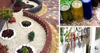 Idee e spunti veramente originali per rivoluzionare il design del giardino o cortile di casa