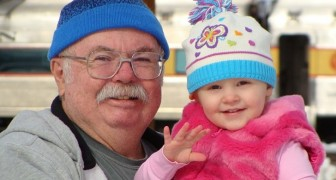 Children grow up happier with grandparents by their side