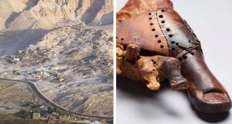 Diese 3000 Jahre alte künstliche Großzehe, die in Ägypten gefunden wurde, ist die älteste Prothese der Geschichte