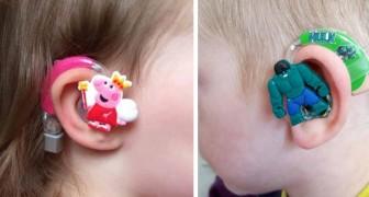 Esta mamá ha creado unos aparatos acústicos especiales para ayudar a los niños a sentirse más seguros