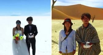 Invece di spendere i soldi nelle nozze, questa coppia ha viaggiato per 400 giorni: ecco la loro luna di miele