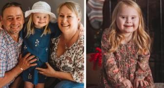 Questa bambina con la sindrome di Down ha iniziato la sua carriera di modella a soli 7 anni
