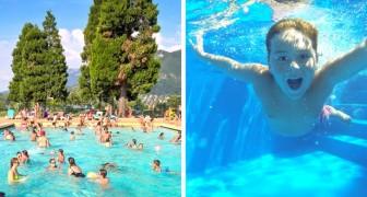 Vi siete mai chiesti quanta pipì c'è in piscina? Alcuni studi hanno diffuso risultati non rassicuranti
