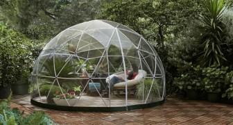 Amazon ha messo in vendita una favolosa cupola da giardino, per realizzare il tuo personale angolo di paradiso
