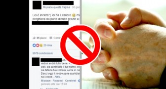 Why we should never write Amen in Facebook posts and some tips for recognizing a fake photo