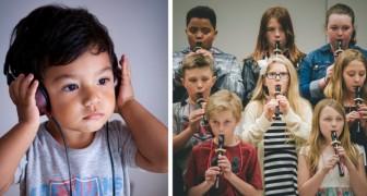 L'ora di musica è una vitamina per il cervello: ecco gli incredibili effetti del suonare uno strumento