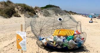 Puglia: arriva il pesce mangia-plastica che ripulirà le nostre spiagge dai rifiuti