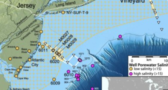 USA: scoperta la più grande riserva di acqua dolce nascosta sotto l'oceano