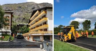 Una strada fatta con rifiuti di plastica: in Svizzera si testa il nuovo asfalto ecosostenibile