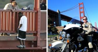 Dieser Mann rettete das Leben von über 200 Menschen, indem er sie davon überzeugte, sich nicht von der Brücke zu stürzen