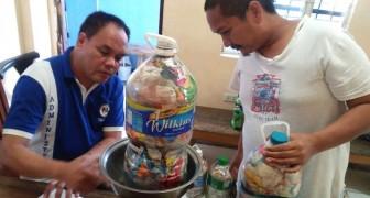 Le Filippine lanciano un'iniziativa a favore del riciclo: per 1 Kg di plastica viene donato 1 Kg di riso