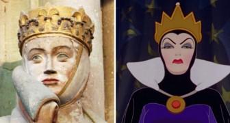 Uta von Naumburg, hier ist die historische Figur, die die böse Königin von Schneewittchen inspiriert hat