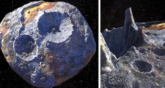 La Nasa ha scoperto un asteroide talmente pieno di oro che potrebbe stravolgere la nostra economia