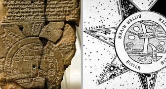 Voici la plus ancienne carte géographique de l'histoire : elle a 2 600 ans et vient de Mésopotamie