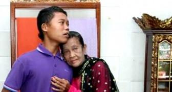 Deze 16-jarige jongen laat zijn 71-jarige vrouw het huis niet uitgaan uit angst dat andere mannen haar van hem weg kunnen nemen