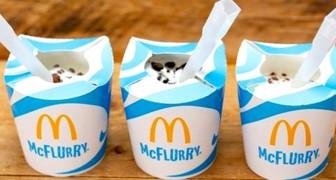 Kampf gegen Plastik: Mc Donald's ersetzt den Behälter des berühmten Mc Flurry durch einen Öko-Becher