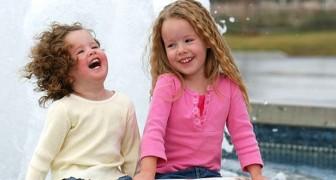 ECHT blije kinderen moeten luidruchtig en levendig zijn