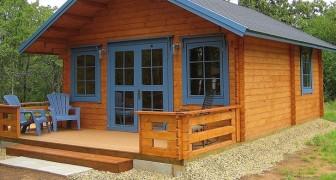 Amazon ha messo in vendita un kit per costruirsi una casa da soli in due giorni: ecco i suoi interni