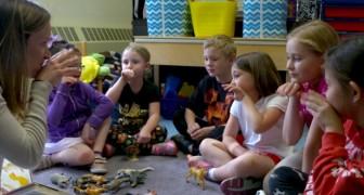 La bambina è sorda, così la scuola impara la lingua dei segni per donarle un messaggio di inclusione