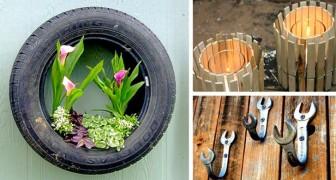 15 oggetti rotti o in disuso trasformati in stupendi oggetti di arredamento... Non vedrai l'ora di replicarli!