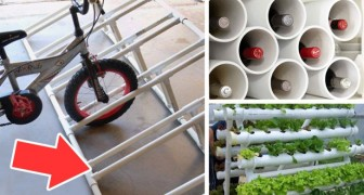 Ecco alcuni utilissimi progetti per la casa che puoi realizzare con i tubi in PVC