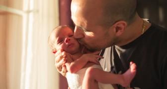 Vamos parar de beijar os recém-nascidos: um simples beijos pode ser muito perigoso