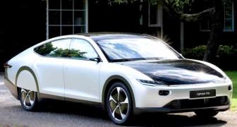 Arriva in Olanda la prima automobile elettrica che si può ricaricare grazie all'energia solare