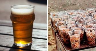 Een glas sigaretten voor een gratis glas bier: dit is het ecologische initiatief om de stranden schoon te maken