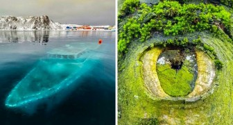 Ces images nous démontrent combien notre monde ne cessera jamais de nous étonner