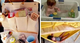 Questi 7 trucchi risolveranno la vita di tanti genitori... teneteli a mente!