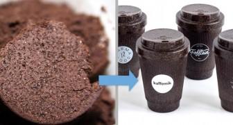 Questa azienda tedesca trasforma i fondi di caffè in tazze resistenti, riutilizzabili e 100% green