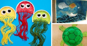 15 idées super-créatives à réaliser avec du papier avec les enfants